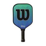 WILSON ENERGY PRO GREEN-BLUE PICKLEBALL PADDLE