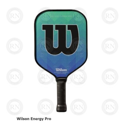 WILSON ENERGY PRO GREEN-BLUE PICKLEBALL PADDLE