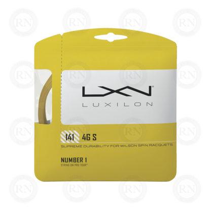 WILSON LUXILON 4G S 141 TENNIS STRING SET