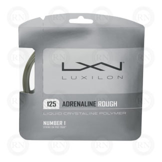 WILSON LUXILON ADRENALINE 125 ROUGH TENNIS STRING SET