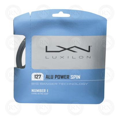 LUXILON ALU POWER SPIN 127 TENNIS STRING SET