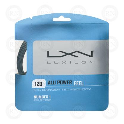 WILSON LUXILON ALU POWER FEEL 120 TENNIS STRING SET