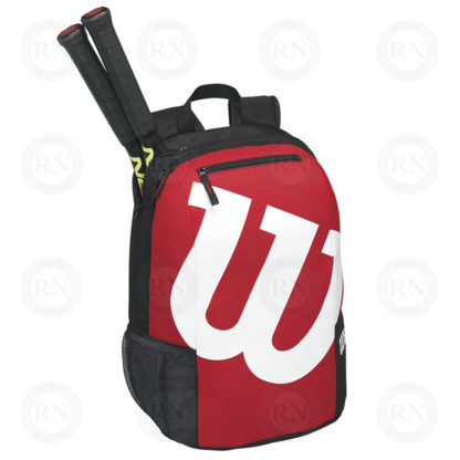 WILSON MATCH BACKPACK BLACK-RED