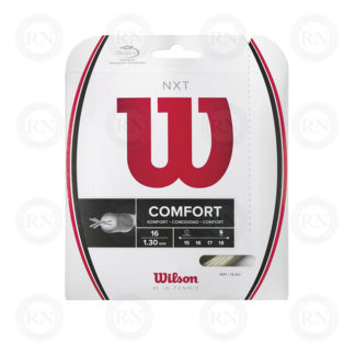 WILSON NXT 16 WHITE TENNIS STRING SET