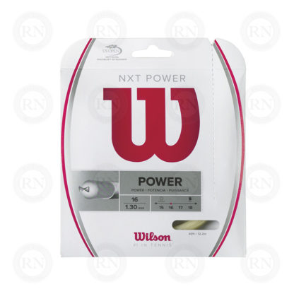 WILSON NXT POWER 16 TENNIS STRING SET