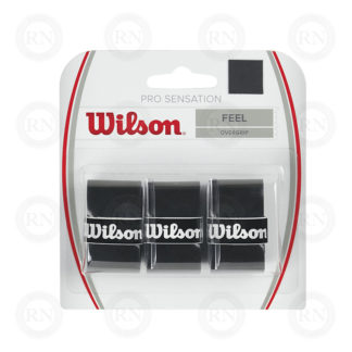 WILSON PRO OVERGRIP SENSATION BLACK TENNIS GRIP