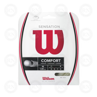 WILSON SENSATION 16 TENNIS STRING SET