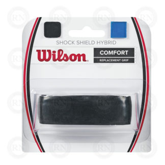 WILSON SHOCK SHIELD HYBRID GRIP BLACK TENNIS GRIP