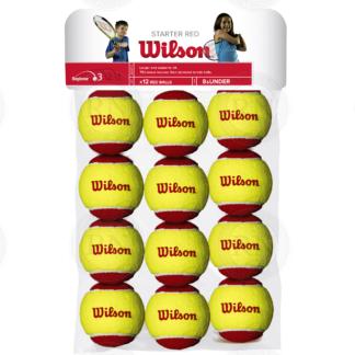 WILSON STARTER RED TENNIS BALLS