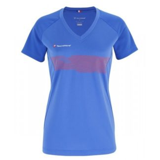 WOMEN F2 AIRMESH T-SHIRT BLUE