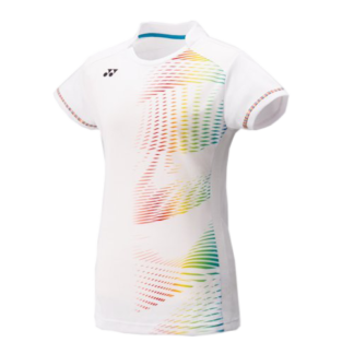 YONEX 20299 WOMENS CAP SLEEVE TOP WHITE