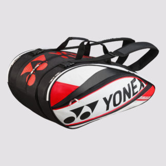 YONEX RACQUET BAG 9529- RED/BLACK