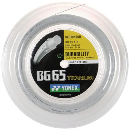 YONEX BG65 TI BADMINTON REEL