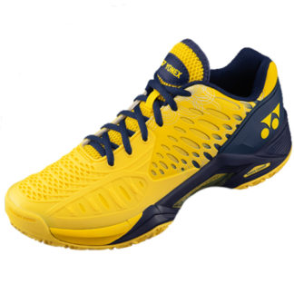 YONEX ECLIPSION TENNIS SHOE YELLOW NAVY