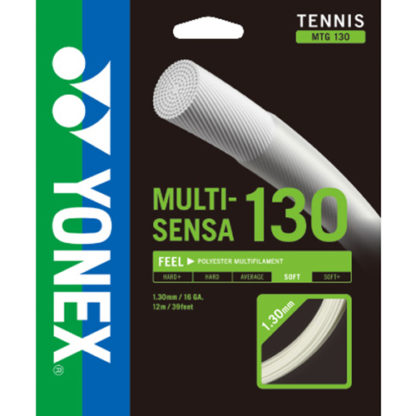 YONEX MULTISENSA 16 TENNIS STRING