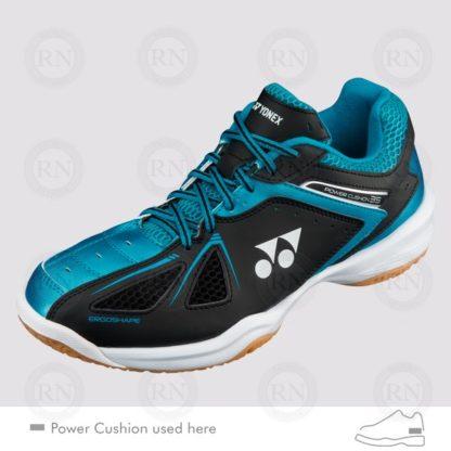YONEX POWER CUSHION 35 BLACK-BLUE