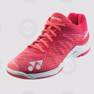 YONEX POWER CUSHION AERUS 3 COURT SHOE LADIES ROSE