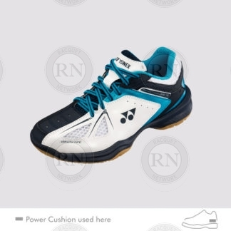 SHB 35 JR BADMINTON SHOE WHITE SKY BLUE
