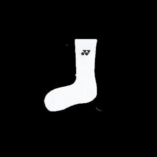 YONEX SPORT CREW SOCKS 1855 WHITE