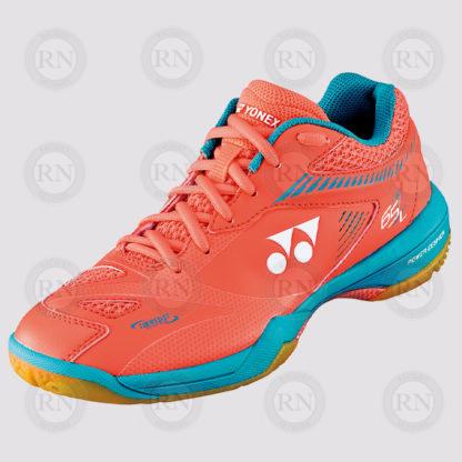 Product Knock Out: Yonex 65Z2 Ladies Badminton Shoe Coral - Whole Shoe