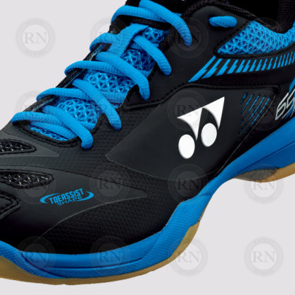 Product Knock Out: Yonex 65Z2 Men's Badminton Shoe Blue - Close Up