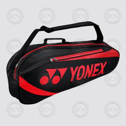 Yonex Active 3 Racquet Bag 8923 - Black Red - Full