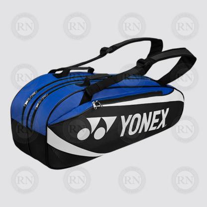 Yonex Active 6 Racquet Bag 8926 - Black Blue - Full
