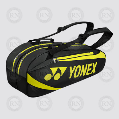 Yonex Active 6 Racquet Bag 8926 - Black Lime - Full