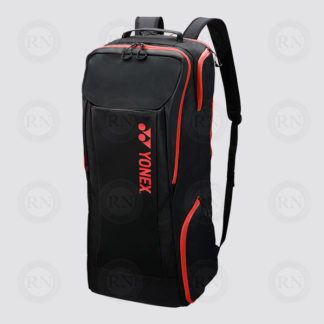 Yonex Active Full Racquet Ruck Bag 8922 - Black Red - Full