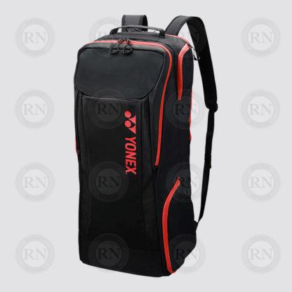 Yonex Active Full Racquet Ruck Bag 8922 - Black Red - Full