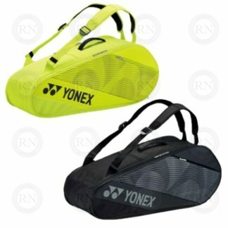 Yonex Active Series 82026 Racquet Bags in Black and Lime Yellow