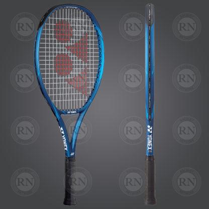 Product Knock Out: Yonex Ezone 25 Junior Tennis Racquet - Blue - Dual View