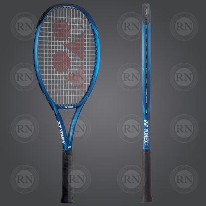 Product Knock Out: Yonex Ezone 26 Junior Tennis Racquet - Blue - Dual View