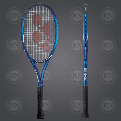 Product Knock Out: Yonex Ezone Ace Tennis Racquet - Blue - Dual View