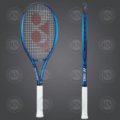 Product Knock Out: Yonex Ezone Feel Tennis Racquet - Blue - Dual View