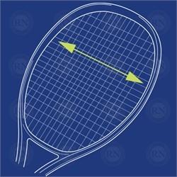 Illustration of Yonex Isometric Expansion Tennis Racquet Technology