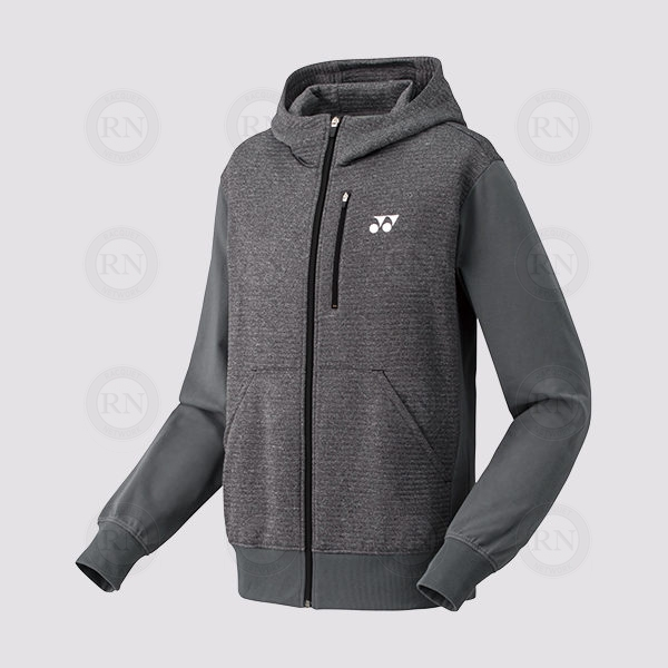 Yonex Men's Full Zip Hoodie 30049 Dark Grey