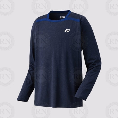 Yonex Men's Long Sleeve T-Shirt 16328 Navy Blue