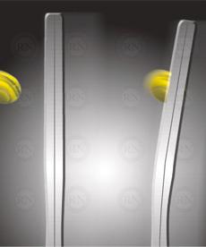 Yonex Oval Pressed Shaft Tennis Racquet Technology