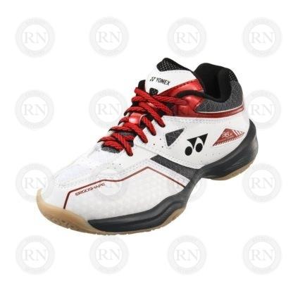 Yonex Power Cushion 36 Jr Badminton Shoe White-Red - Whole Shoe