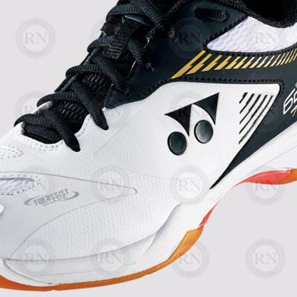 Product Closeup: Yonex Power Cushion 65X2 Wide Badminton Shoes Closeup