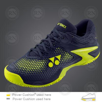 Yonex Power Cushion-Eclipsion 2 Tennis Shoe Navy-Yellow