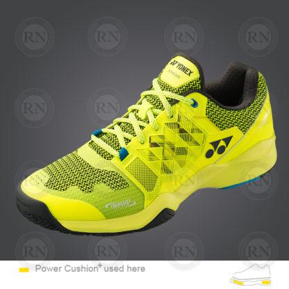 Yonex Power Cushion-Sonicage Tennis Shoe Lime-Yellow