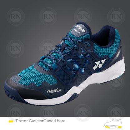 Yonex Power Cushion-Sonicage Wide Tennis Shoe Black-Navy