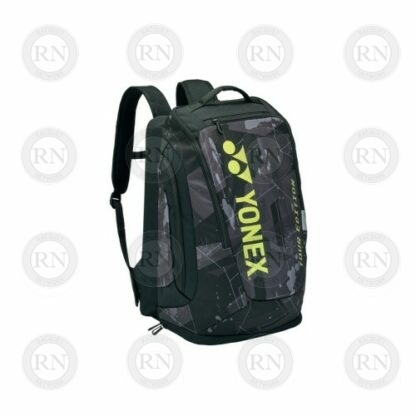 Yonex Pro Series 92012M Backpack in Black and Yellow