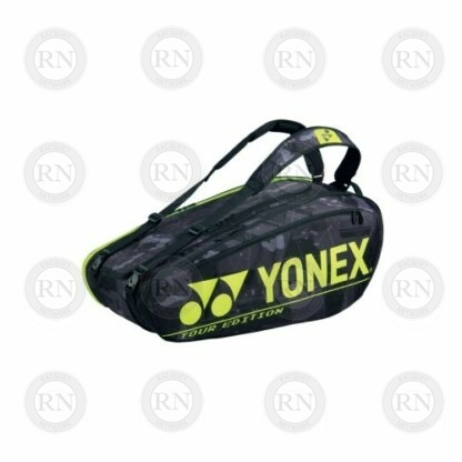 Yonex Pro Series 92029 Racquet Bag in Black and Yellow