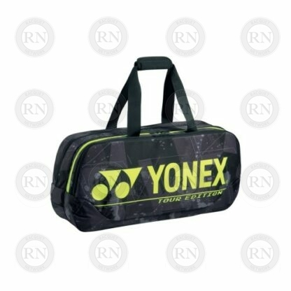 Yonex Pro Series 92031W Tournament Bag in Black and Yellow