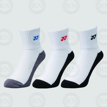 Yonex Quarter Sport Sock 19131 Pack of 3