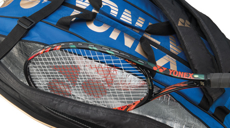 Yonex Racquet Bag Technology - Thermo Guard