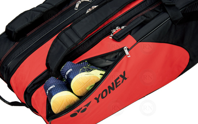 Yonex Racquet Bag Technology - Upper Shoe Pocket